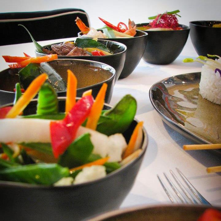 Indonesische rijsttafel Amsterdam